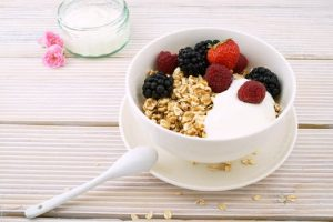 Free Breakfast - Photo of some Fruit & Cereal